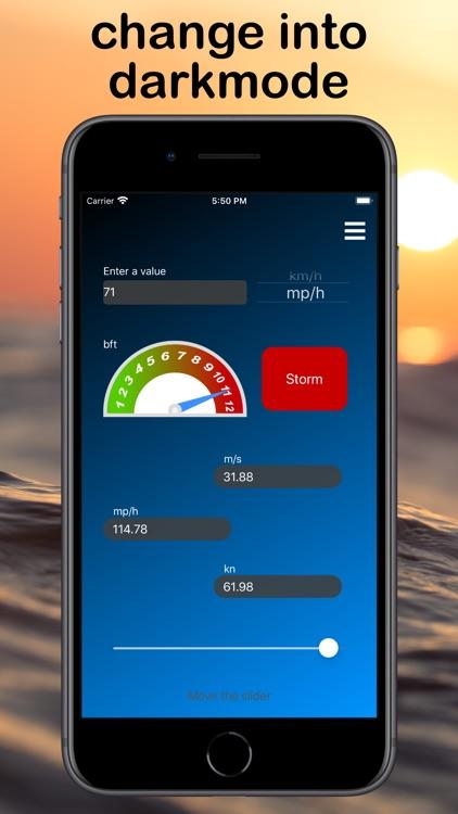 Windmeter - Windconverter screenshot-4