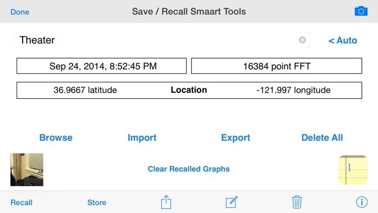 SmaartTools Single Channel RTA screenshot-4