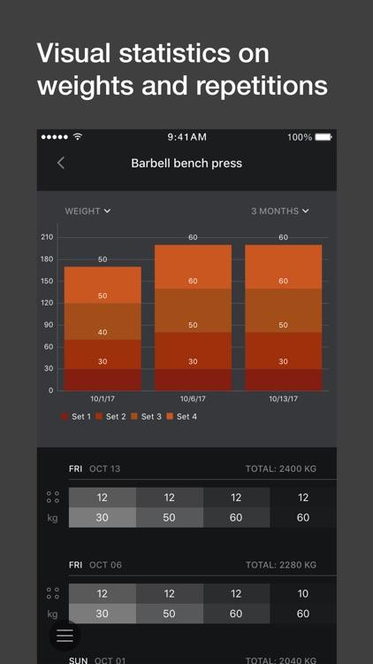Gym workout planner, tracker screenshot-4