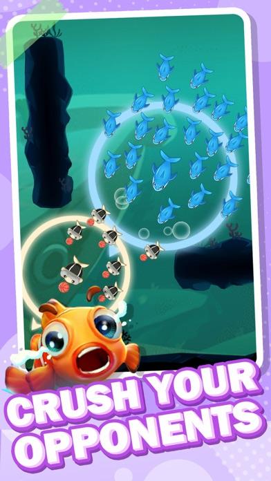 Fish Go.io - Be the fish king screenshot 1
