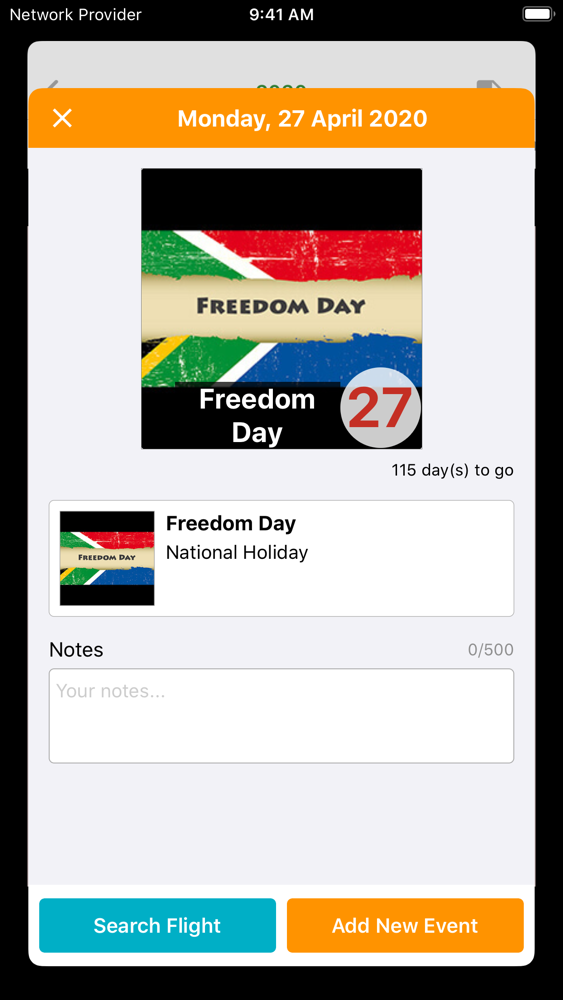 S.Africa Calendar 2020 - 2021 App for iPhone - Free ...
