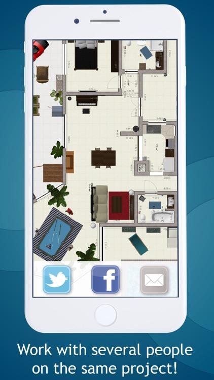 Keyplan 3D Lite - Home design screenshot-4