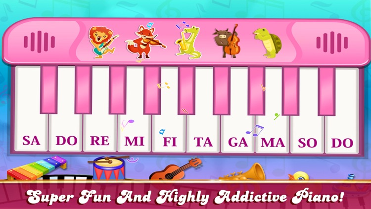 Girly Pink Piano Simulator screenshot-7