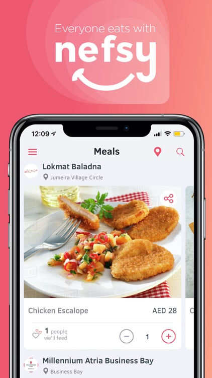 nefsy - Eat, Save & Share