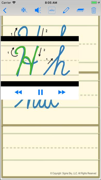 cursive screenshot 8