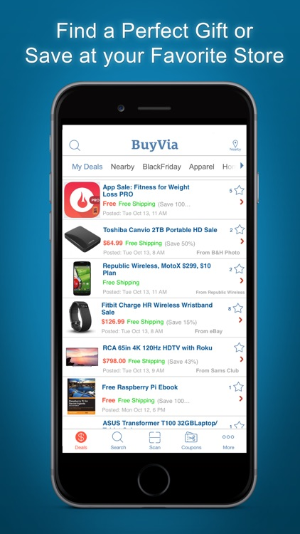 BuyVia – Best Daily Shopping screenshot-2