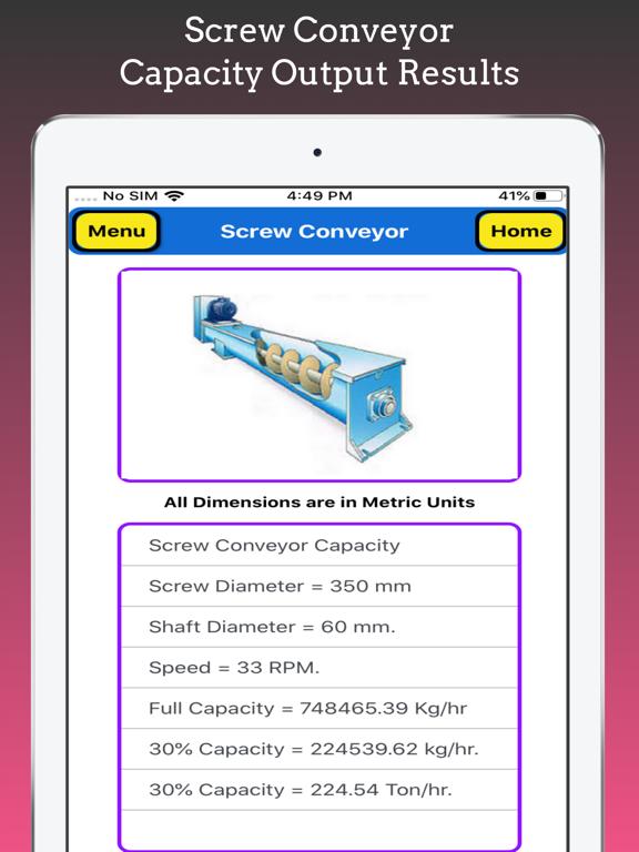 Screw Conveyor Pro screenshot 14