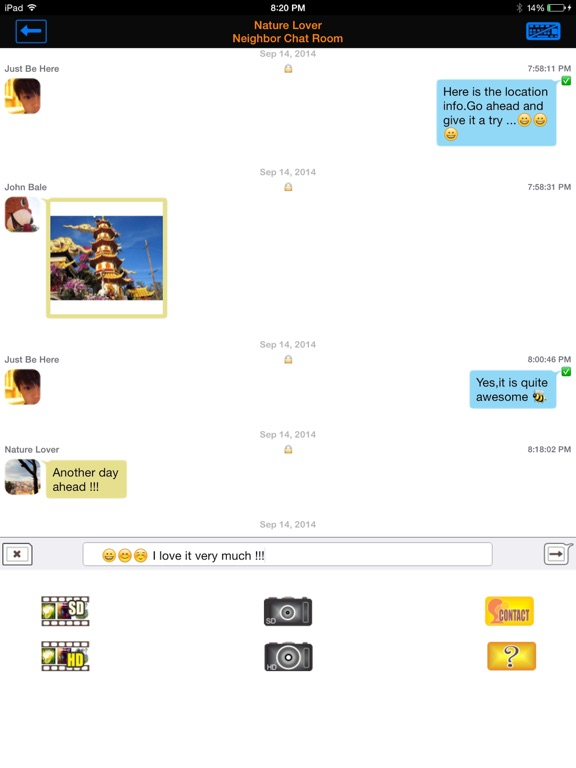 QIK CHAT Screenshots
