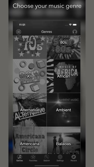 Screenshot #1 pour air radio tune