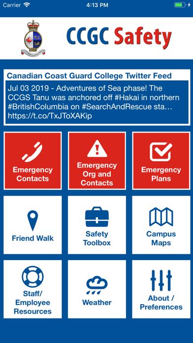 CCGC Safety screenshot 1