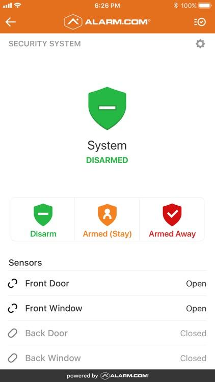 Alarm.com screenshot-7