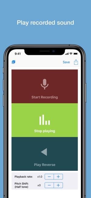 Reverse Audio on the App Store