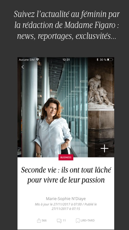 Madame Figaro, le news féminin screenshot-1