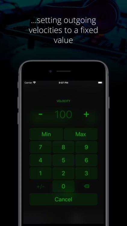 Midiflow Limiter (Audiobus) screenshot-3