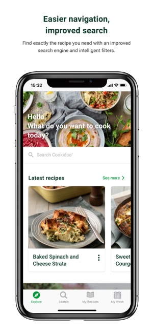 Aplikacja Official Cookidoo App W App Store