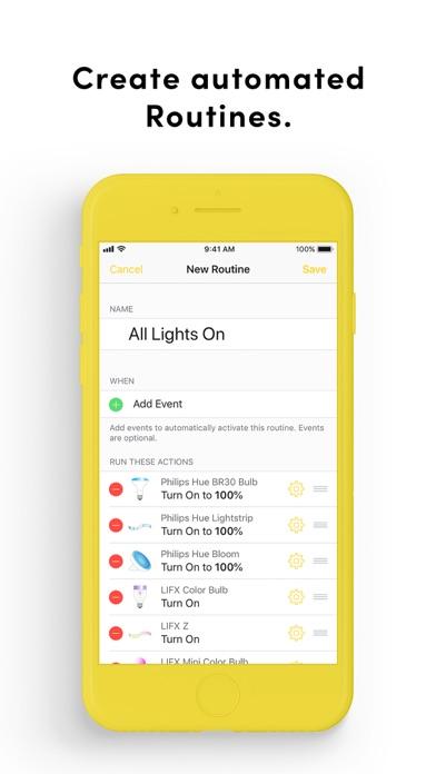 Yonomi by Yonomi (iOS, United States) - SearchMan App Data & Information