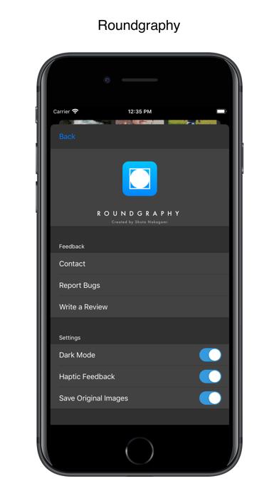 Roundgraphy Screenshots