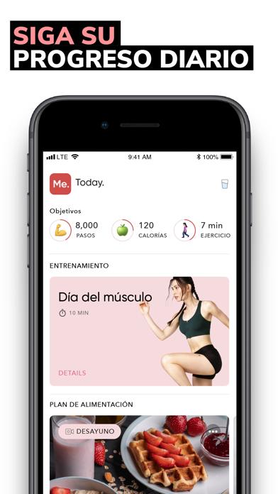Screenshot for BetterMe: Pérdida de peso in Colombia App Store