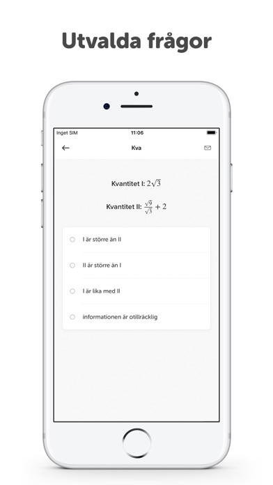 Screenshot for Högskoleprovet 2,00 in Sweden App Store
