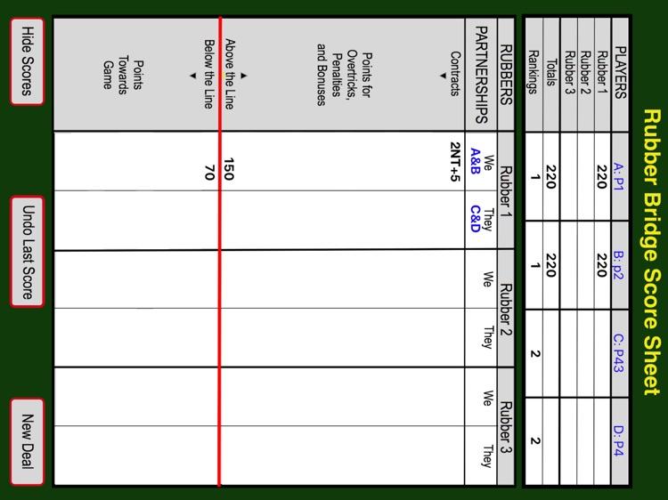 Bridge Bidding & Scoring Pad screenshot-4