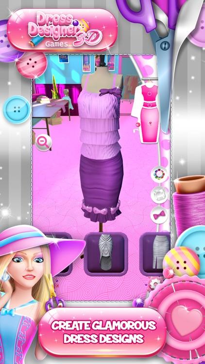 Dress Designer Games 3D screenshot-3