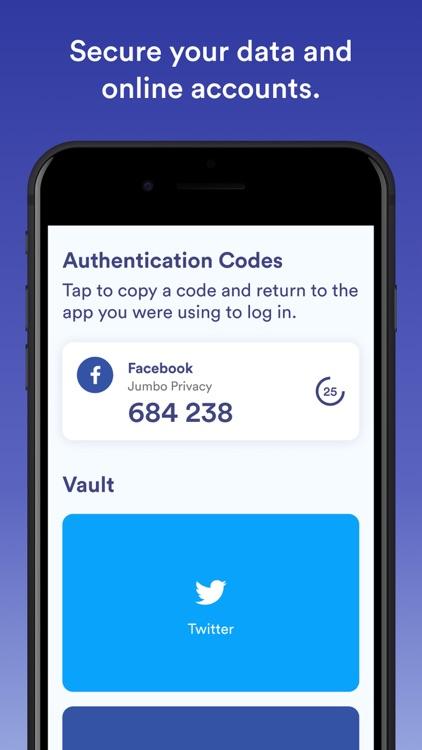 Jumbo: Privacy + Security screenshot-7