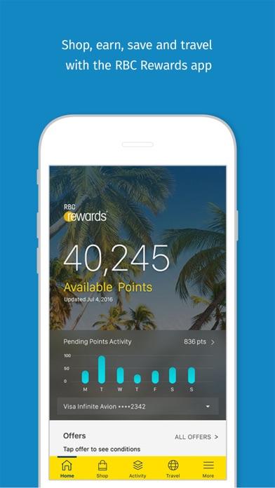 RBC Rewards - Revenue & Download estimates - Apple App Store