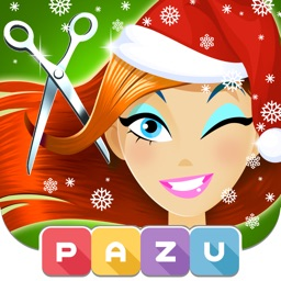 Girls Hair Salon Christmas