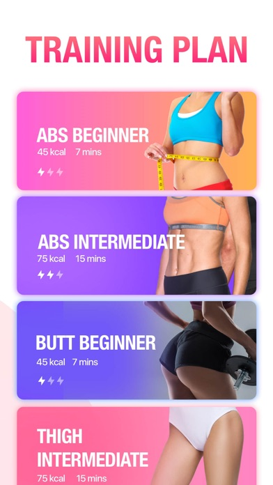 Workout for Women, Fitness App for Windows