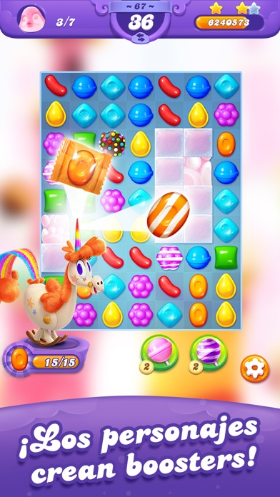 Screenshot for Candy Crush Friends Saga in Ecuador App Store