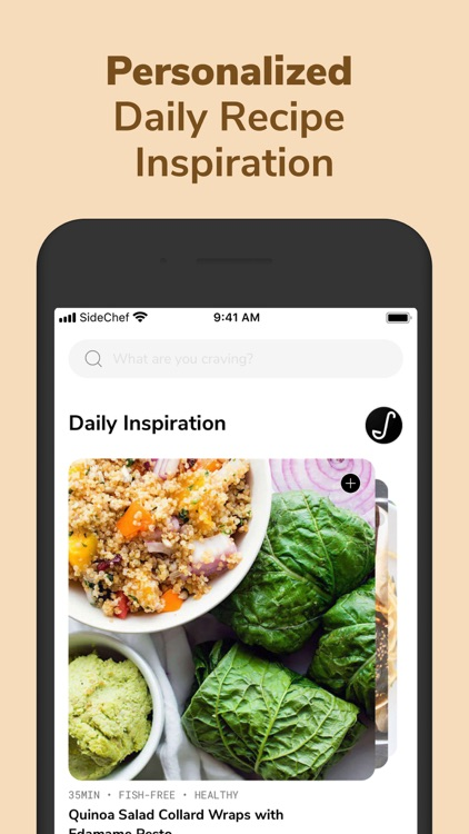 SideChef: Recipes+Meal Planner