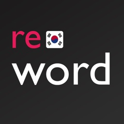 Korean flashcards with ReWord
