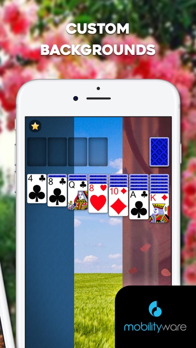 Screenshot from Solitaire