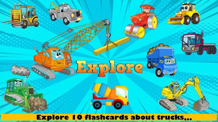 Construction Trucks FULL screenshot-3