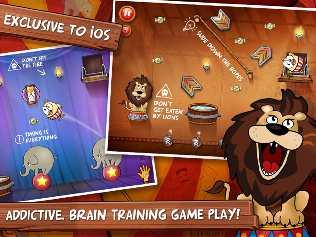 ‎Drop The Chicken 2 The Circus Screenshot