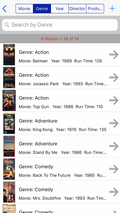 Movie Collector Screenshots