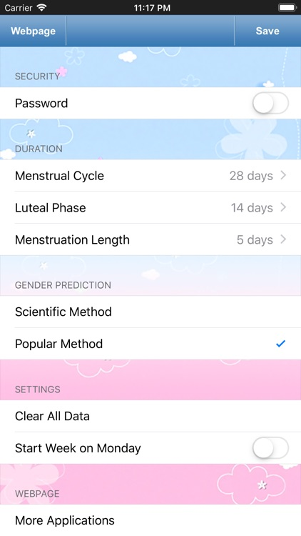 Fertility Tracker for Women screenshot-4