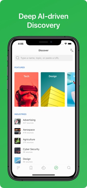 ‎Feedly - Smart News Reader Screenshot