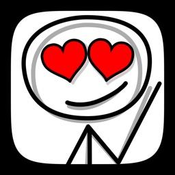 Stickmoji Cute Love Stickers