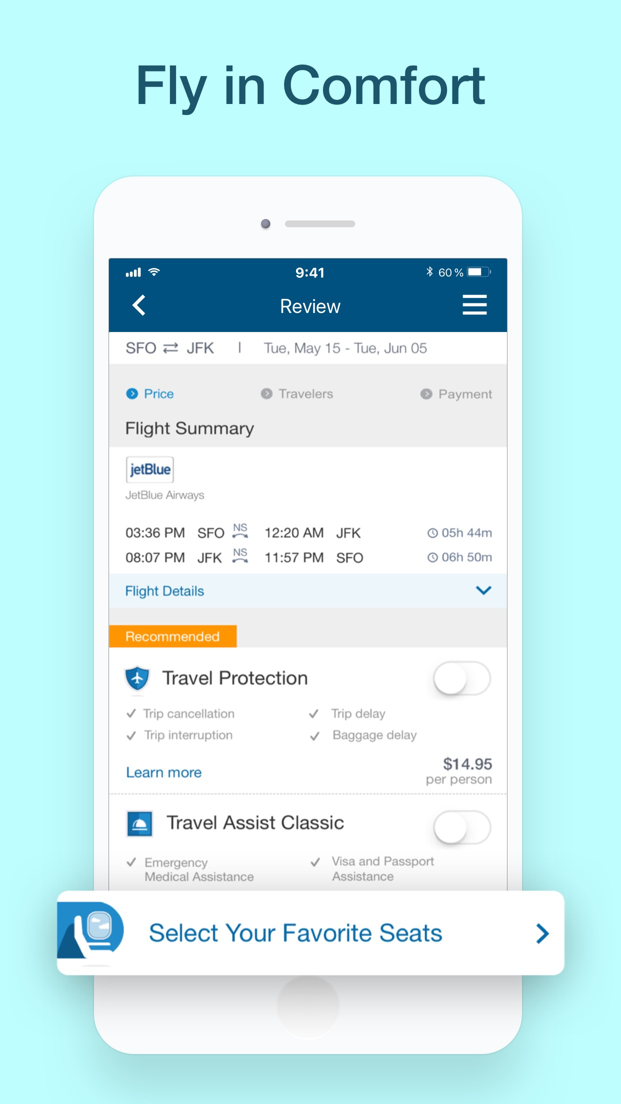 CheapOair: Cheap Flight Deals Screenshot