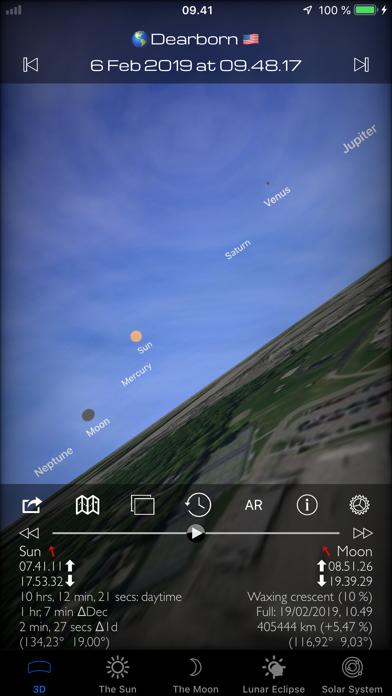 Screenshot Soleil et Lune 3D Pro