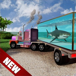 Sea Animal Cargo Truck Driving