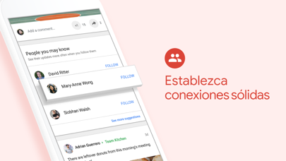 Screenshot for Google+ para G Suite in Chile App Store