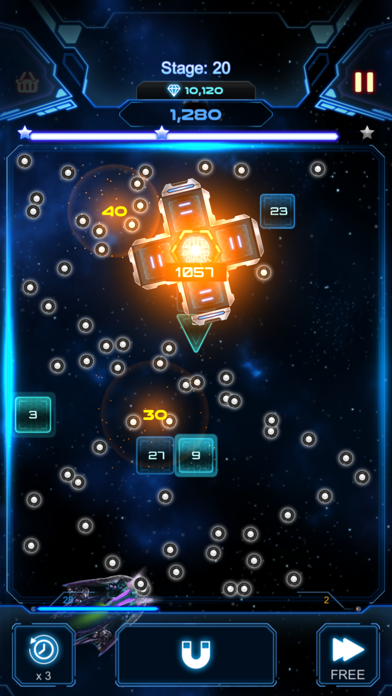 Bricks Breaker Galaxy Shooter screenshot 4
