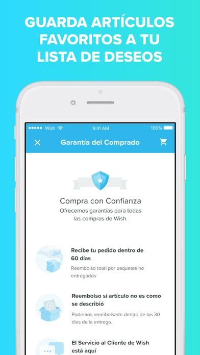 Screenshot for Wish - Comprar es divertido in Spain App Store
