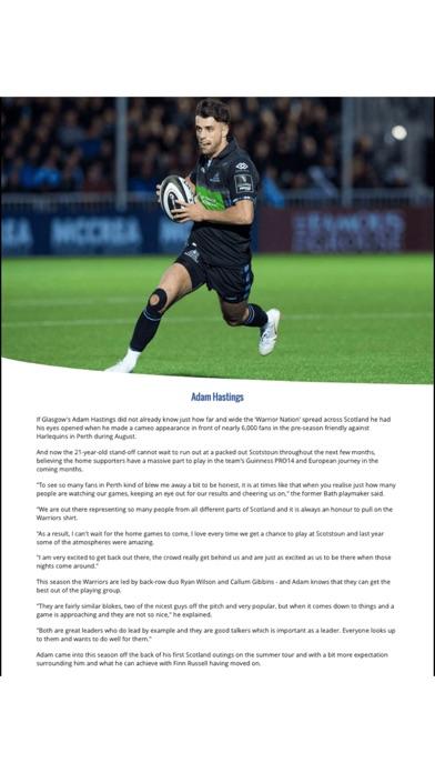 NU Generation Rugby Magazine screenshot 4