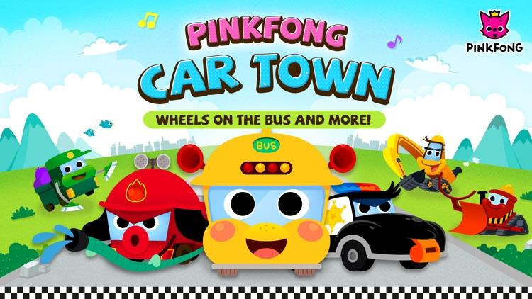 Pinkfong Car Town screenshot-0
