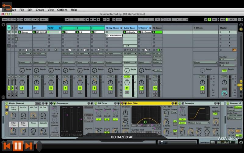 Recording Effects in Live 9 скриншот программы 3