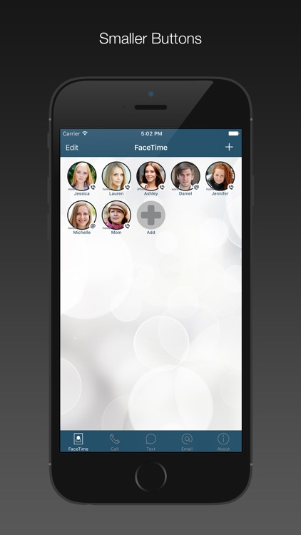 FaceDial for FaceTime Dialer
