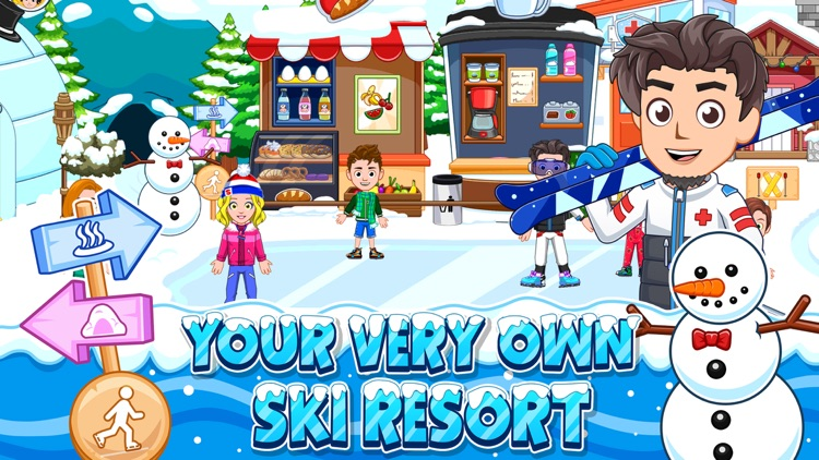 My City : Ski Resort screenshot-5